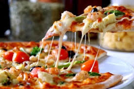 Hardbakke, Norway: Pizza