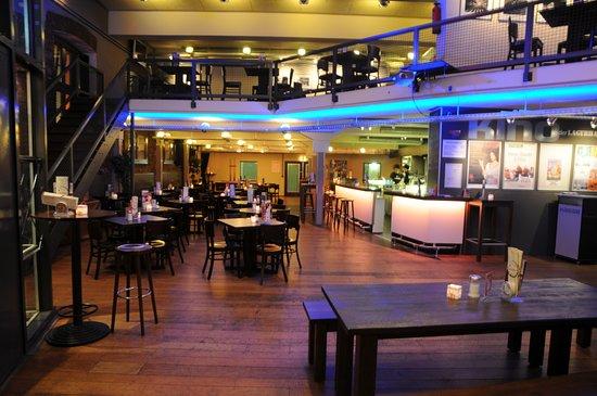 Der Gastronomiebereich des Kulturzentrums Lagerhalle e.V.