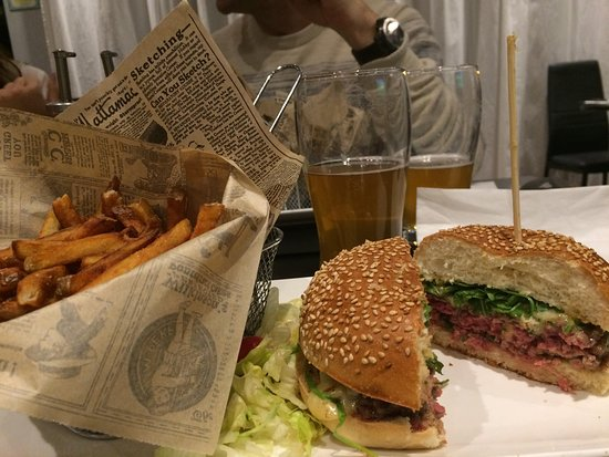 Burger Grenoblois au QG de Lesigny