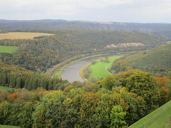 Koenigstein, Germany: Aussicht über das Elbtal