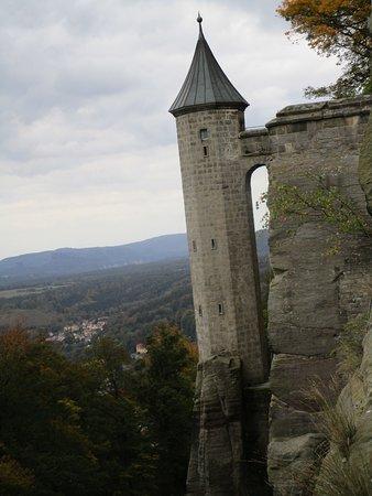 Koenigstein, Germany: Imposante Verteidigungsanlage