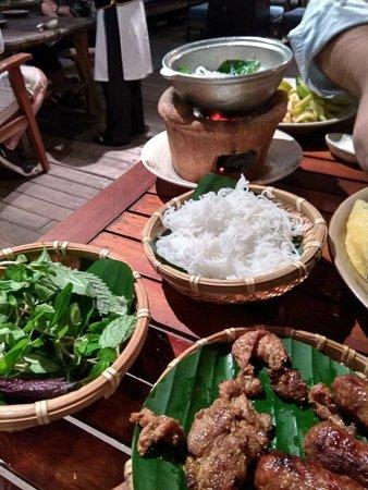 La primera noche en Hanoi..