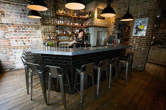 Plateau Brighton: the bar