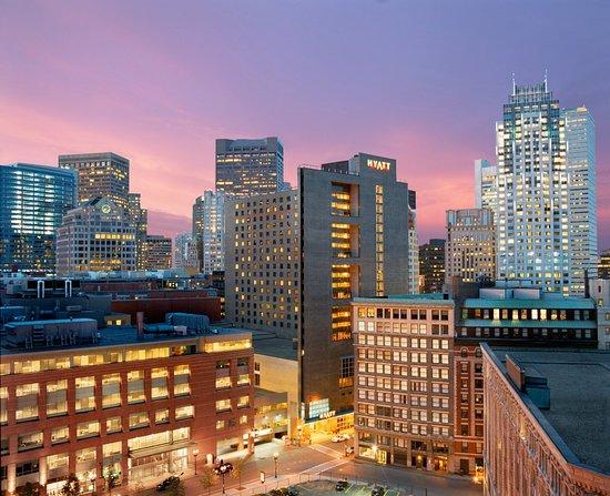 Hyatt Regency Boston: in the center of it all!