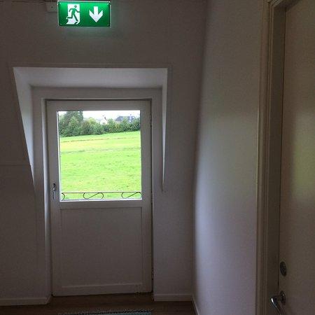 Nasaker, Sweden: Emergency exit annexe