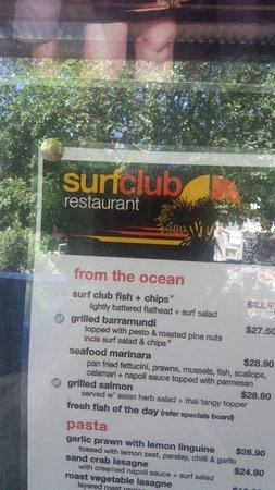 Sunshine Beach, Avustralya: prezzi in dollaro australiano un dollaro =0,60 euro