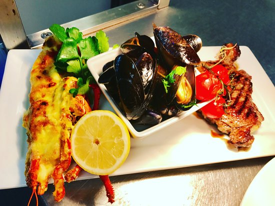 Chipping Ongar, UK: Valentines Day Surf & Turf