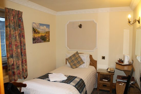 Duke of Gordon Hotel: Single room 352