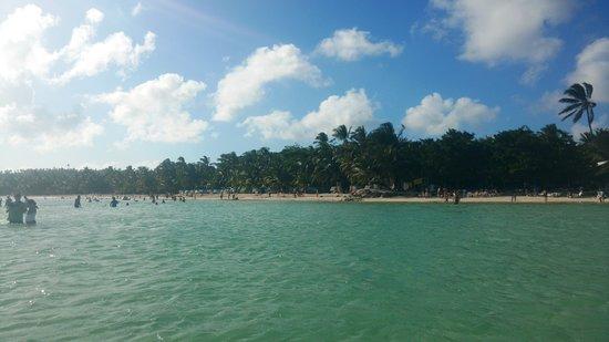 Rocky Cay: A praia