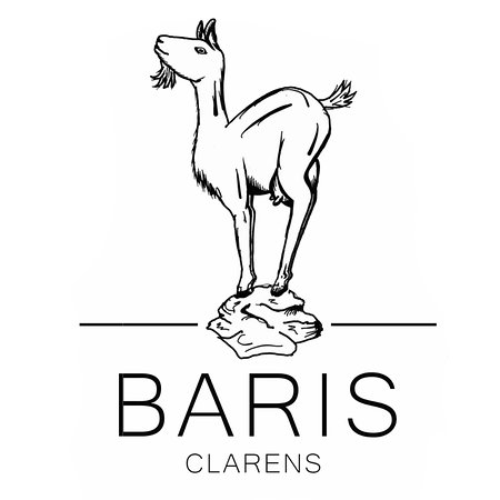 Clarens, Sydafrika: Baris, home of delicious farm made goat's cheese.
