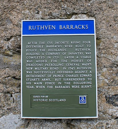 Newtonmore, UK: Ruthven Barracks