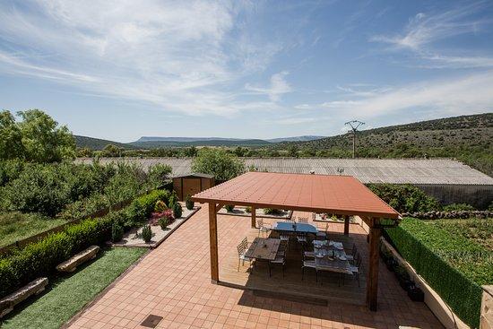 Santervas de la Sierra, Spanien: Vistas Balcón H11 Doble superior adaptada HR Pico de los Haces