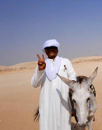 PEACE. Saqqara, Egypt