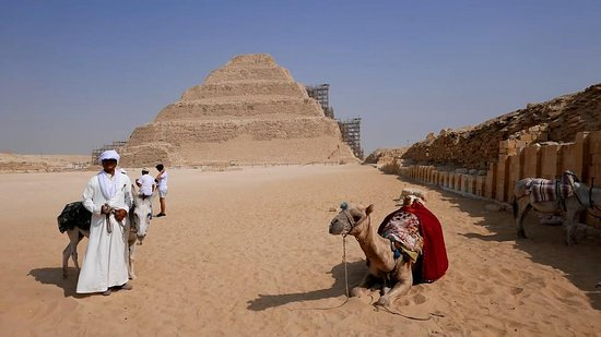 STEP PYRAMID. Saqqara, Egypt. So beautiful!!
