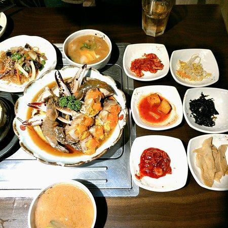 韩国美食酱蟹~!