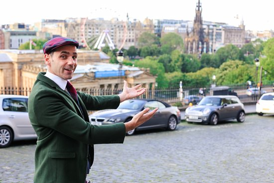 The Mountebank Comedy Tour of Edinburgh