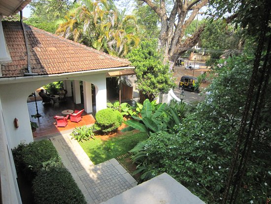 Malabar House: view over front of hotel