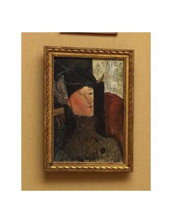 The Barnes Foundation : Amedeo Modigliani, Portrait de Beatrice Hastings, 1916