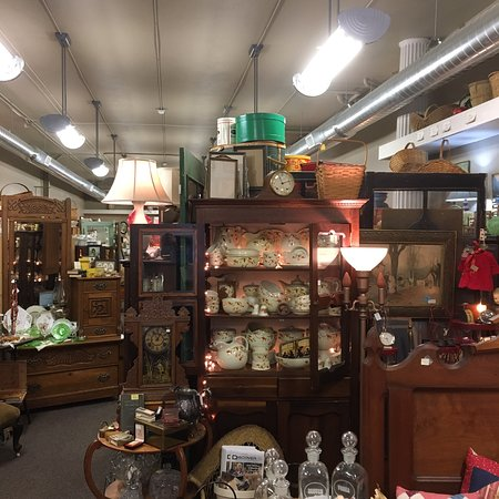 Bear Blessing Antiques in Hutchinson, Kansas.
