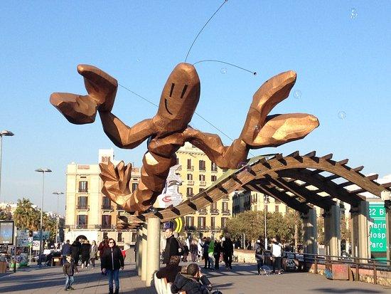 Escultura La Gamba