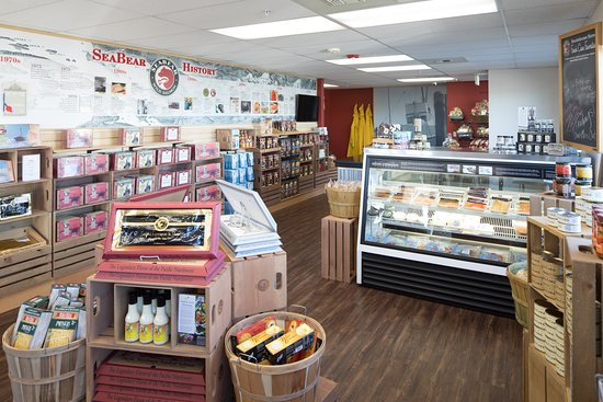 SeaBear Wild Salmon: Enjoy SeaBear's wide variety of foods made right at the Smokehouse, plus other locally made food