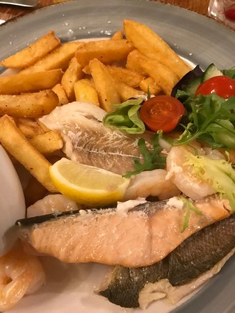 Seafood Mixed Grill