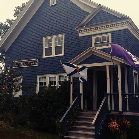 Annapolis Royal, Canadá: The Gallery at 396 St George St. Wheelchair accessible.