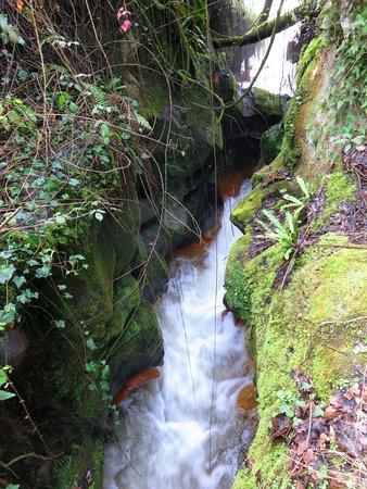 Cascate Dell'Acquarossa: il fosso dell'acquarossa