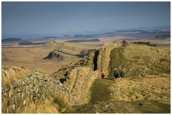 Walltown Crags - Hadrian's Wall : Nearing Housteads Fort