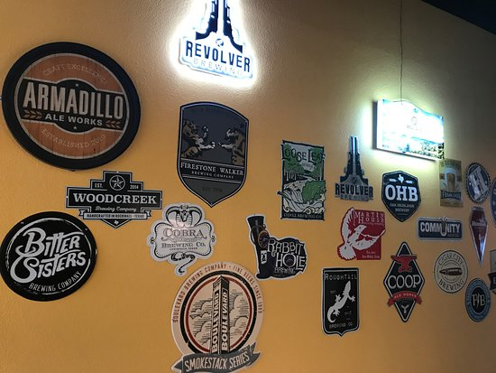 What's On Tap: Wall signs