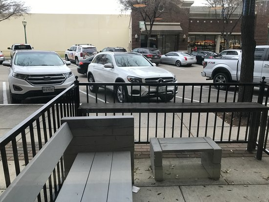 What's On Tap: Patio seating
