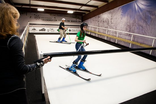 Inside Ski Training Center