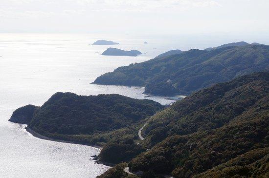 Kaminoseki-cho, Япония: 薄井方面(拡大)