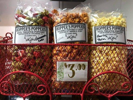 Sycamore, IL: Pre-package popcorn