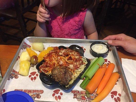 Lodge Wood Fired Grill: Kids Spaghetti