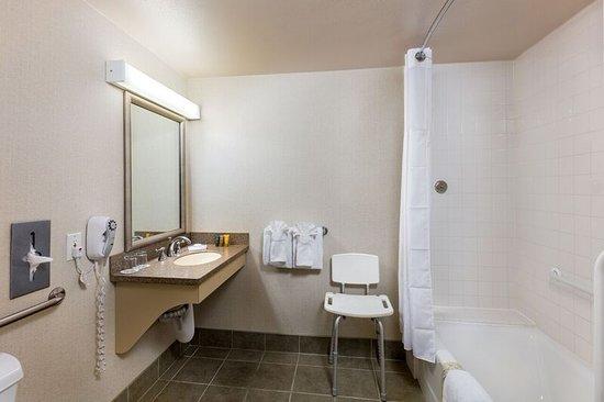 Handlery Hotel San Diego: ADA Bathroom With Bathtub