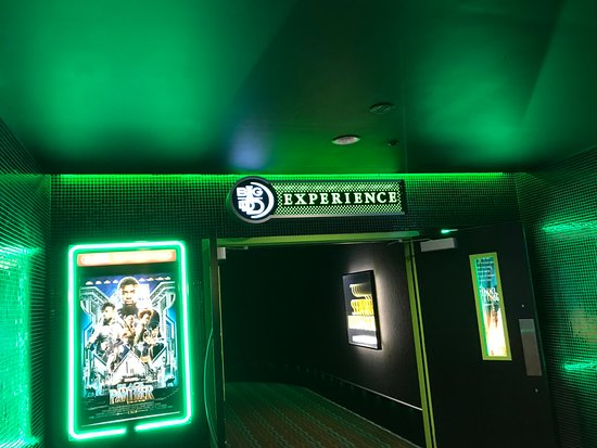 The Big D Technology Experience To See A Movie In The Theater