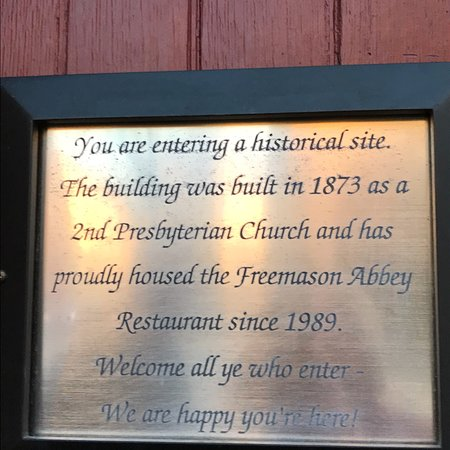 Freemason Abbey Restaurant: photo4.jpg
