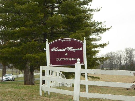 Keswick, VA: Sign