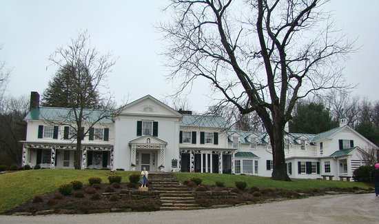 Lucas, OH: Louis Bromfield's Big House has 32 rooms.
