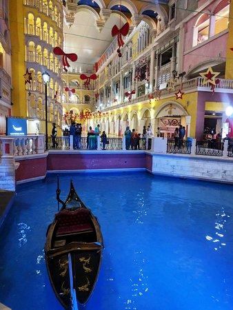 The Grand Venice Mall Gondola Ride Starting Point