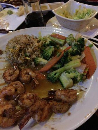 Shorewood, WI: Hibachi Shrimp