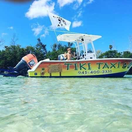 0 8 Miles From Venice Beach Tiki Taxi Of Sarasota