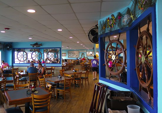 Mcelroy S Harbor House Seafood Restaurant Interior Dining
