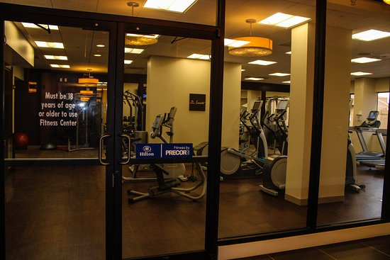 exercise room and sauna picture of hilton orlando altamonte springs altamonte springs. Black Bedroom Furniture Sets. Home Design Ideas