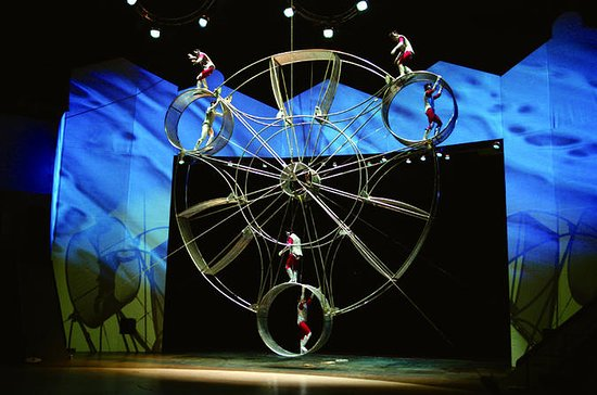 Shanghai Chinese Acrobatic Show and...
