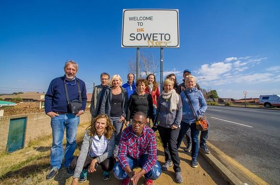 Full-Day Soweto City Tour with...
