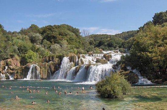 Krka Waterfalls and Trogir...