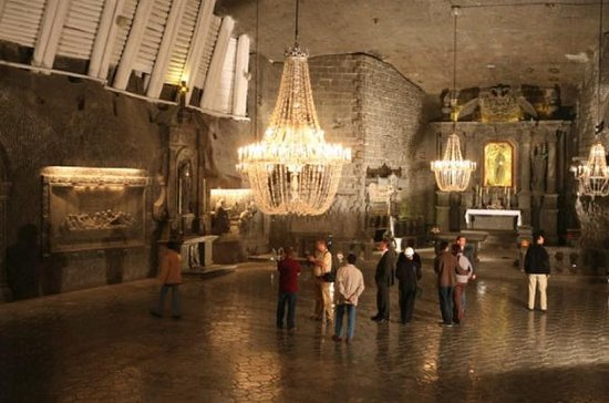 Wieliczka Salt Mine from Krakow with