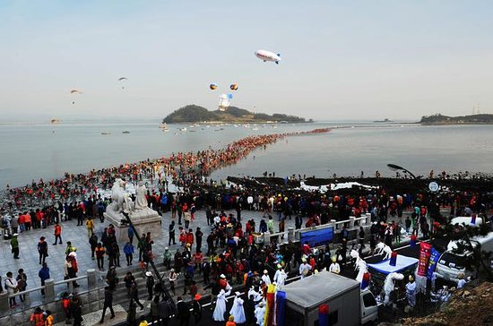 Jindo Miracle Sea Road Festival (Depart from Busan)